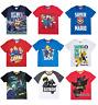 Boys Kids Official Lego Batman Various Short Sleeve T Tee Shirt Top 3 - 12 Years