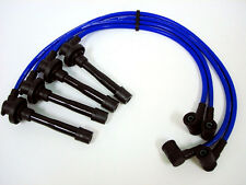 FOR 95-98 NISSAN 200SX SR20DE TRIPLE CORE 10.2MM RACING SPARK PLUG WIRES BLUE