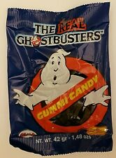 The Real Ghostbusters Gummy Candy (Original SEALED from 1988) RARE! NOS!