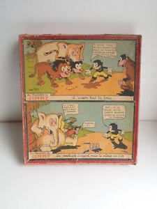 PUZZLES BOIS LES PROVERBES DE JIMMY Illustrations ROGER HEDAN  1933