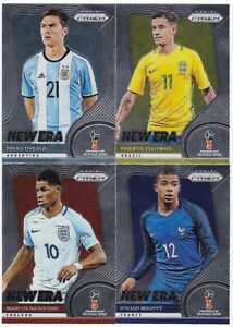 2018 PANINI PRIZM FIFA WORLD CUP - 'NEW ERA' CARDS - CHOOSE YOUR CARD