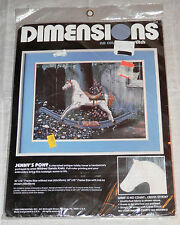 Dimensions Jenny's Pony No Count Cross Stitch Kit Unopened NIP