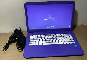 HP Stream Celeron N3060@1.5GHz, 4GB Ram, 32GB SSD, Linux Ubuntu