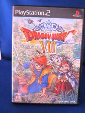Sony Playstation PS2 Dragon Quest VIII Complete Japan Systems Only