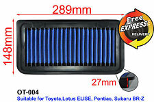 High-Flow Simota Air Filter for Toyota Lotus ELISE Pontiac Subaru BR-Z OT-004
