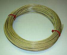 30 m Fil d'antenne - 3 mm - Cuivré en PVC (H1082)