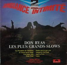 DON BYAS/JACQUES DENJEAN LES PLUS GRANDS SLOWS DOUBLE FRENCH LP