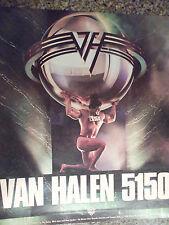 1986 Van Halen 5150 Record Advertisement - Cool Ad