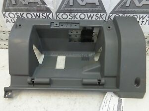 Nissan Frontier Dash Panel Lower Right Gray Passenger Side Panel 68108-3S500