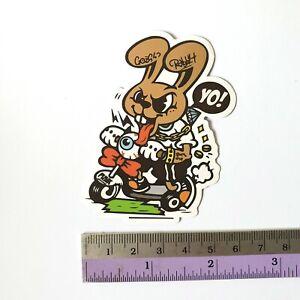 SANTA CRUZ Bomb Cartoons Scary Skateboard Stickers