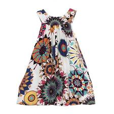 Summer Floral Baby Girls Princess Dress Sleeveless Wedding Party Pageant Dresses