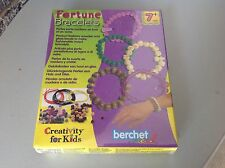 Vintage Nrfb#Factory Sealed Berchet Creal Fortune Bracelets