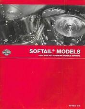 Harley-Davidson 2005 Softail Models Service Manual P/N 99482-05