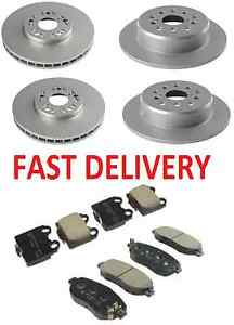 LEXUS IS200 IS300 2.0 3.0 1999-2006 FRONT & REAR BRAKE DISCS AND PADS SET *NEW*