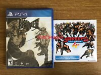 Streets Of Rage 4/ Bare Knuckle 4 - PlayStation 4/PS4 - Limited Run - Brand New!