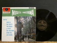 MUSETTE PANORAMA  Various  LP  French Jazz  Gypsy   Darcelys etc  NEAR-MINT !