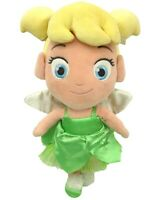 "Disney Store Tinker Bell Fairy Plush 14"" Peter Pan Toddler Doll Stuffed Toy"