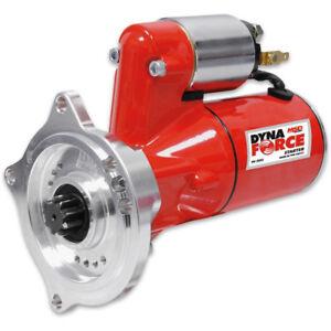 MSD Starter Motor 5093; DynaForce Red 3.0hp Hitachi for Ford 390-428 FE