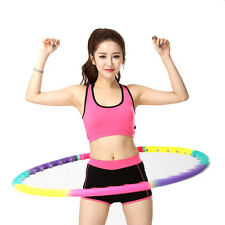 Magnetic Health Hoola Hula Hoop Weighted Abdominal Exercise Massage Balls