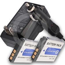 2 Battery+Charger for Sony Cyber-Shot DSC-T700/P DSC-T700/R DSC-T70HDPR Camera