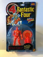 HUMAN TORCH GLOW IN THE DARK 1994 FANTASTIC FOUR ACTION FIGURE SEALED CARD