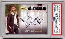 2016 The Walking Dead Rick Grimes ANDREW LINCOLN AUTOGRAPH Auto PSA 10 POP 1/1 !