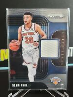 2019-20 Panini Prizm Sensational Swatches #97 Kevin Knox II Jersey Knicks
