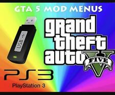 Gta V USB Mod Menu Gta5 For JB Ps3 (x5)