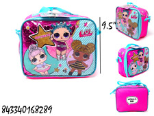 """Glitterati- Lol Surprise 9.5"""" LunchBag Very Ideal For Gift  !Buy One Now!- 8289"""