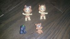 Cheeky Twozies Happi Brown Squirrel Baby & Raccoon by Moose Toys Collectible Lot