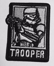 "High Quality STAR WARS STORM TROOPER Embroidered Iron On Patch (2.5"" X 3.5"")"