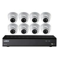 LOREX(R) LHA21162TD8B Lorex 16-Channel 2 TB DVR with Eight 1080p HD Weatherpr...