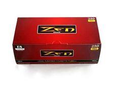 Zen Red (Full Flavor) King Size Cigarette Tubes - 4 Boxes=1,000 Tubes