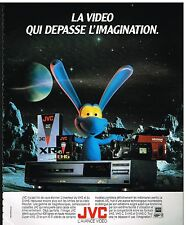 Publicité Advertising 1990 Materiel Hi Fi Video JVC