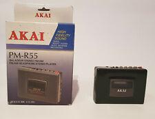 Akai PM-R 55   Walkman Cassette Recorder mit AM/FM Radio