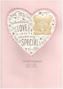 "Hallmark Forever FriendsValentine's Day Card  ""Valentine's Love someone special"""