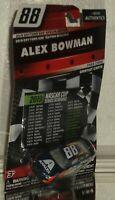 2019 ALEX BOWMAN #88 AXALTA NASCAR AUTHENTICS 1/64 DAYTONA 500 EDITION