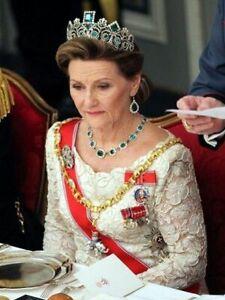 6 Postkarten Königin Sonja von Norwegen