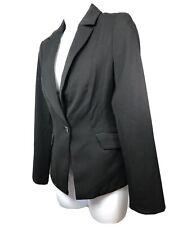 White House Black Market Women's Black Blazer Sport Coat Suit Jacket Size 0 $145