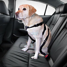 Car Safety Dog Seat Belt Harness Travel Pet Restrain SeatBelt Adjustable Lead