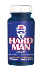 HARD MAN Daily Maximum Strength 60 capsules 1 months supply
