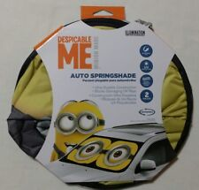 NEW Despicable Me Minion Auto Shade Car Truck SUV Vehicle Universal Fit Front