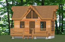 20x10 Tiny House -- 266 sq ft -- PDF Floor Plan -- Model 1B