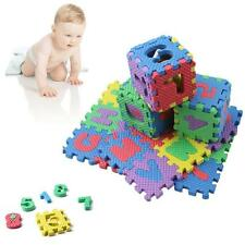 Alphabet Numerals Baby Kid Play Mat Educational Toy Soft Foam Mats Safety Hot Wd
