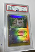2003 Pokemon Slaking Reverse Foil EX Ruby & Sapphire 12/109 PSA 10 POP 1!