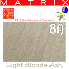 Matrix Color Sync 8a Demi-permanent Cream Hair Color 90ml
