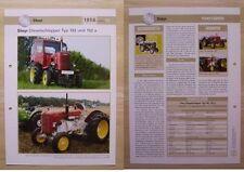 STEYR Traktor Schlepper Typ 182 und 182 a 1956 Weltbild
