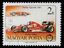FERRARI POSTAGE HUNGARIAN STAMP 1986 PHILATELY PHOTO ART PRINT POSTER BMP681A