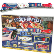 Bachmann 01503 Scout Special Electric Train Set w/E-Z App Train Control HO Scale