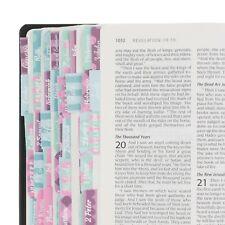 Bible Indexing Tabs Women Colorful Bible Study Accessories Journaling (Aqua)